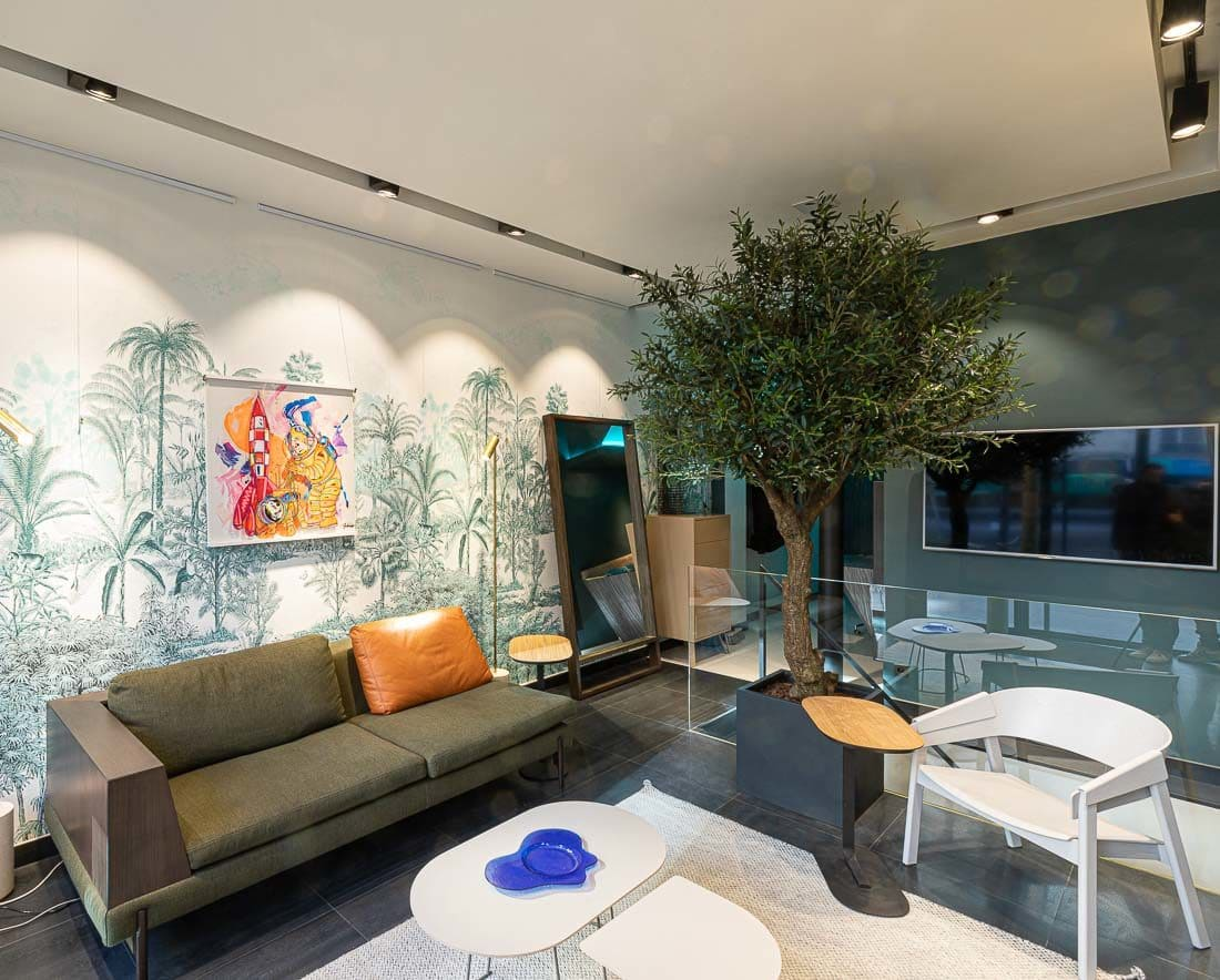 Showroom of Amocosy boulevard Saint Germain (75005)