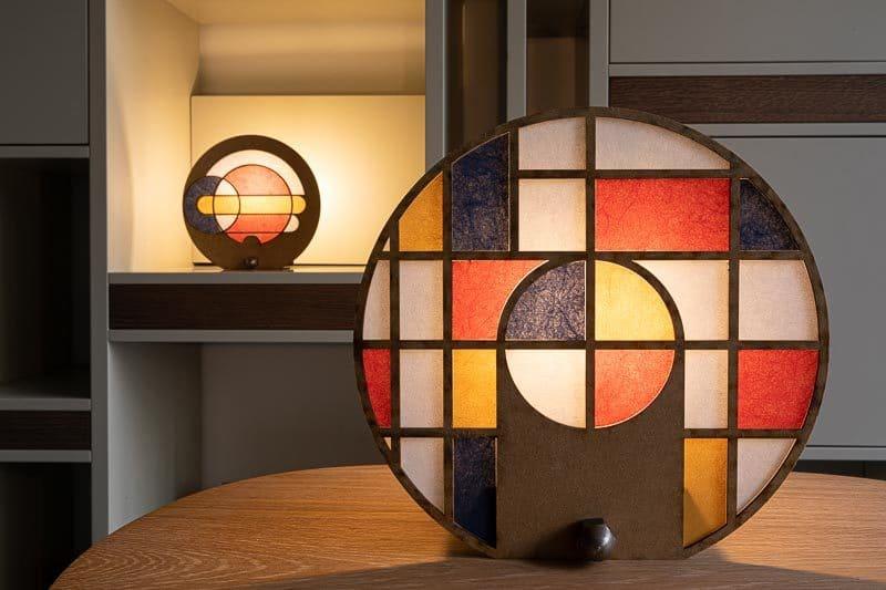Table lamp by JDW Design Studio